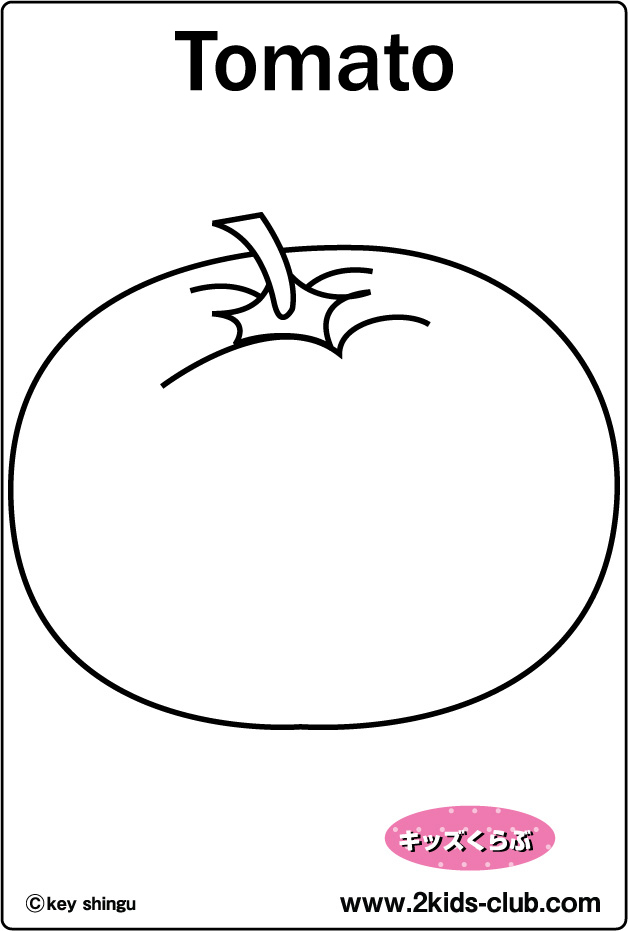 coloring pages tomatoes - photo#31